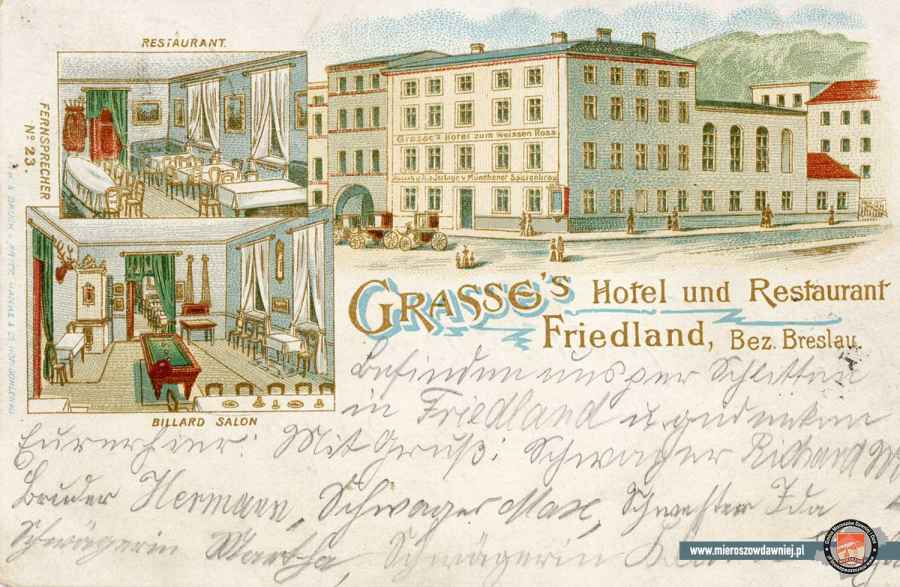 1901 Hotel Weisses Roβ
