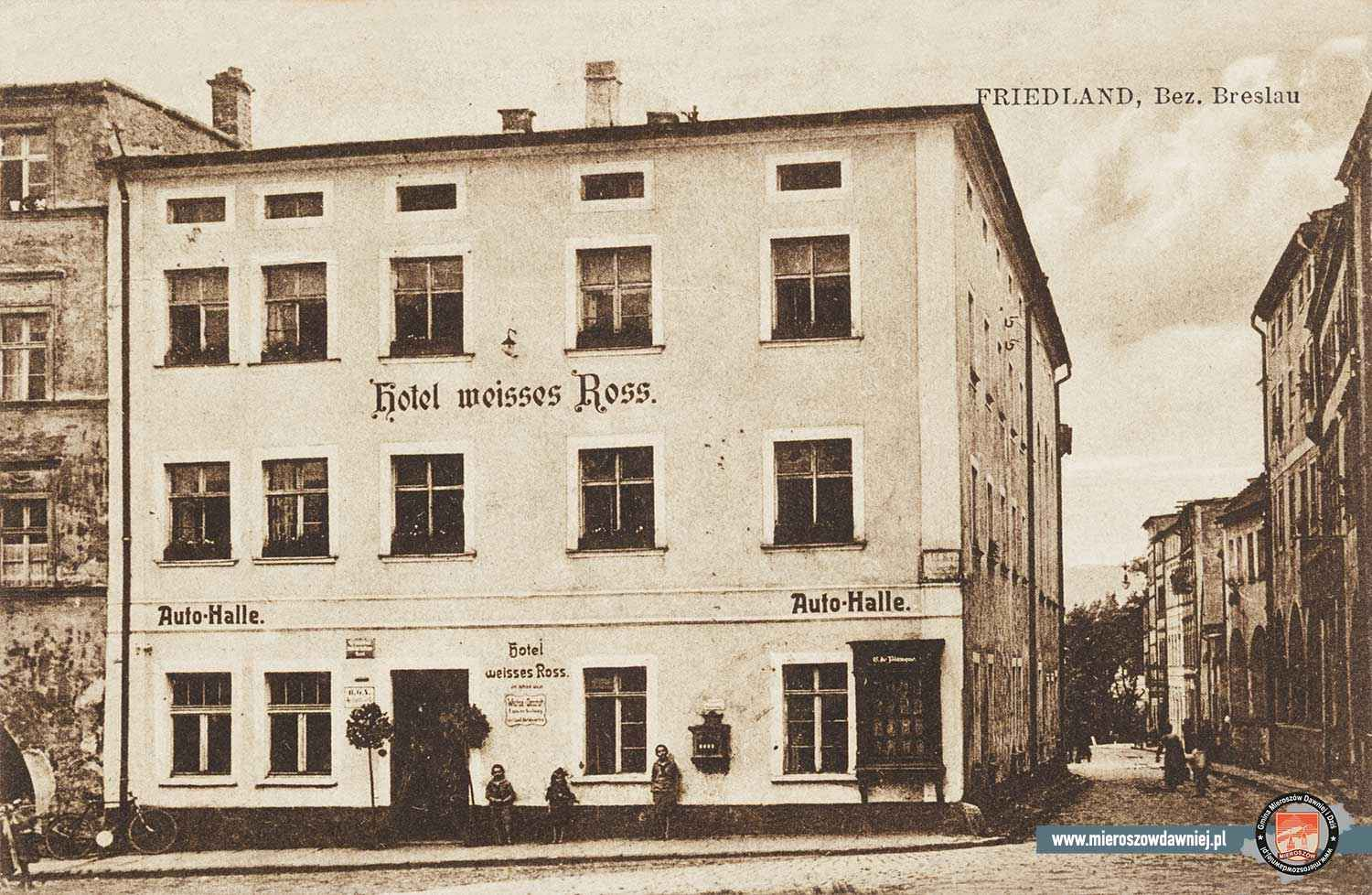 1925 Hotel Weisses Roβ